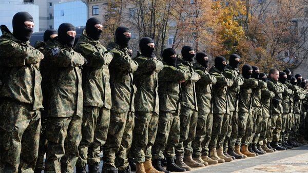 Курсанты полка Азов. Архивное фото