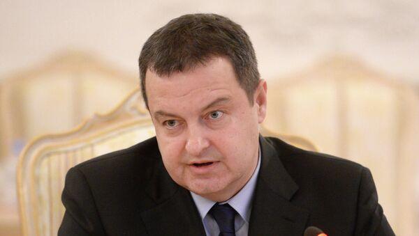 Глава МИД Сербии Ивица Дачич. Архивное фото