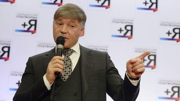 Председатель Гражданской платформы Рифат Шайхутдинов. Архивное фото