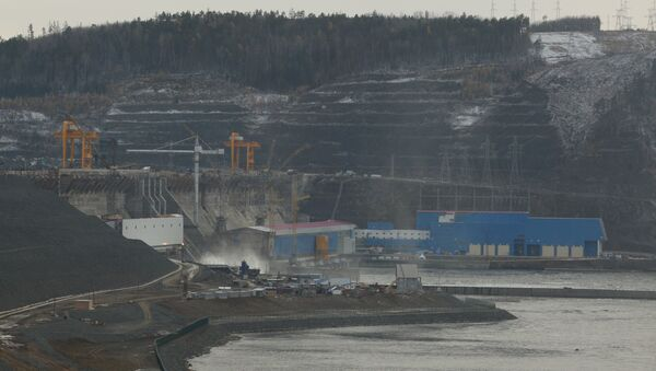 Богучанская ГЭС на реке Ангара. Архивное фото