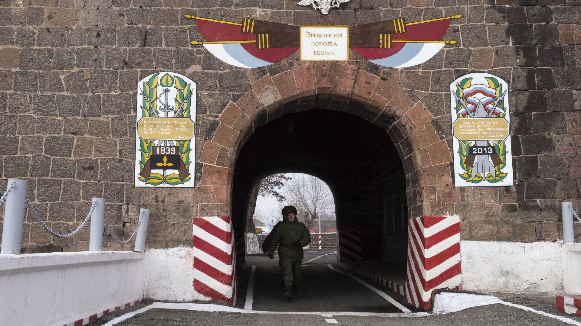 102-я российская военная база в Армении. Архивное фото - РИА Новости, 1920, 28.03.2021