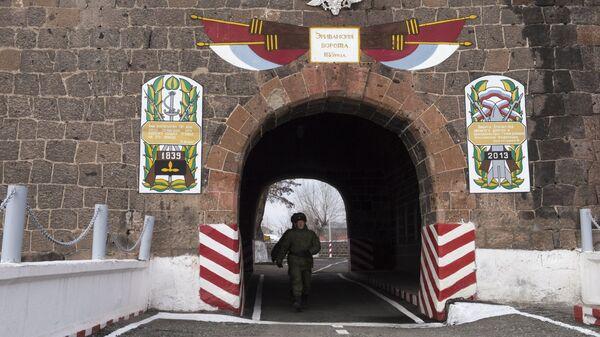 На юге Армении появились два опорных пункта российской военной базы