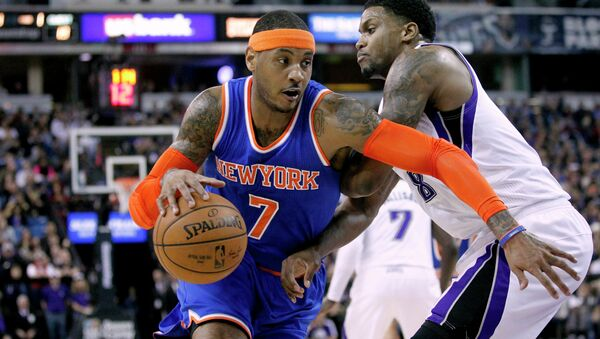 Баскетболисты Сакраменто победили в Нью-Йорк