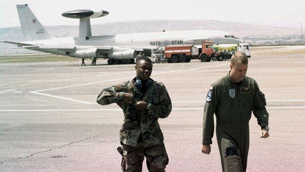 Военные инструкторы НАТО в Грузии, архивное фото