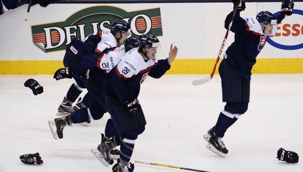 Хоккей. Молодежный ЧМ. Матч Швеция - Словакия