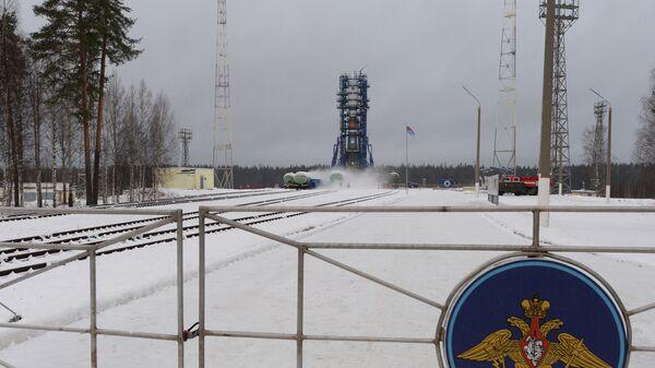 Космодром Плесецк в Архангельской области. Архивное фото