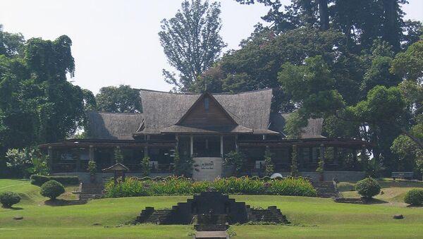 Богорский ботанический сад в Индонезии. Архивное фото