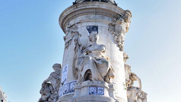 Площадь Республики в Париже. Архивное фото