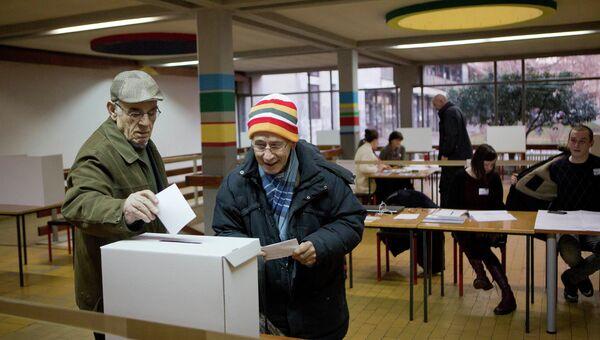 Выборы в Хорватии. Архивное фото