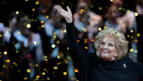 Оперная певица Елена Образцова во время гала-концерта Браво, Елена