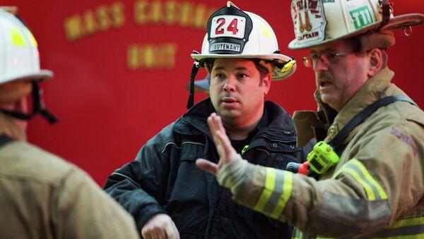 Пожарные в США. Архивное фото