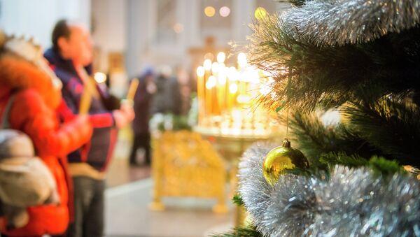 Празднование Рождества в Омске