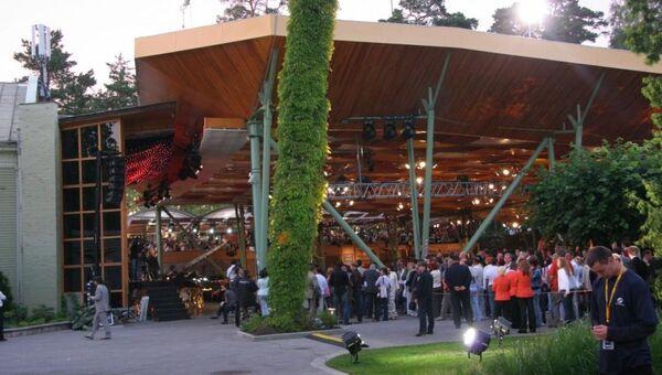 Большой зал концертного зала Dzintari
