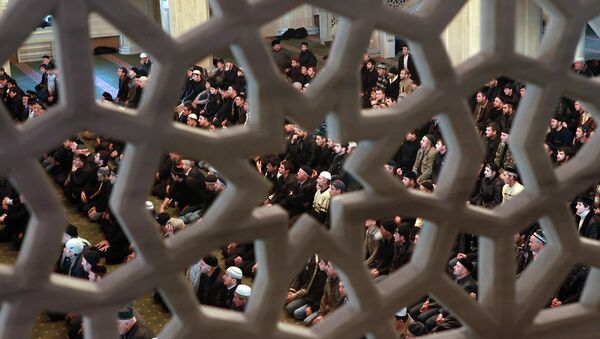 Мусульманский праздник. Архивное фото