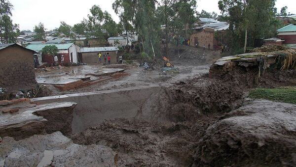 Наводнение в Африке. Архивное фото