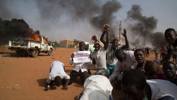 Протесты в Нигере. 17 января 2015 года