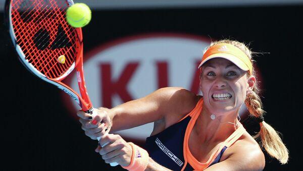 Немецкая теннисистка Ангелика Кербер. Архивное фото