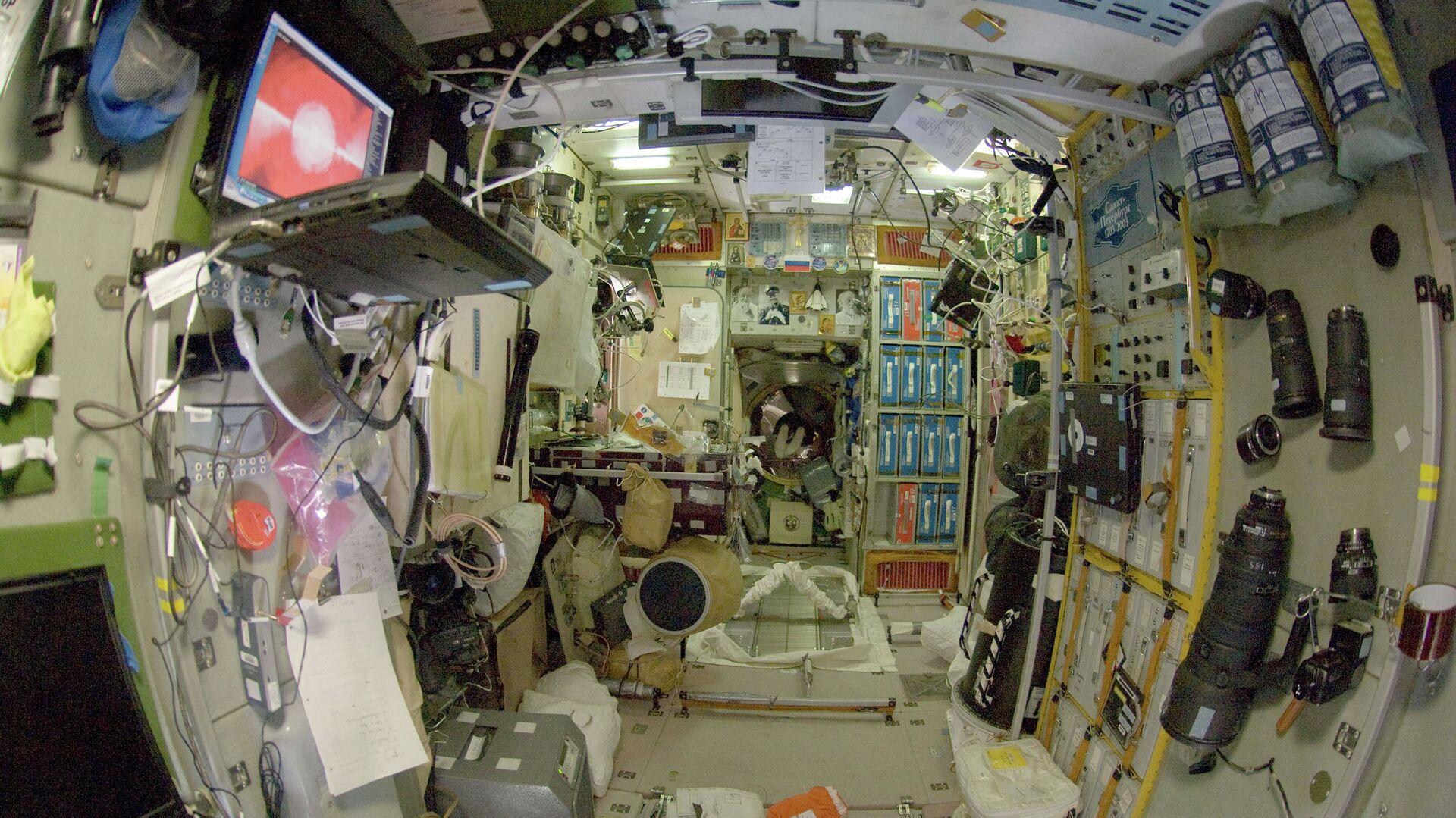 Модуль Звезда международной космической станции - РИА Новости, 1920, 24.02.2021