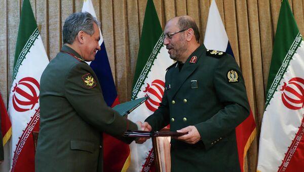 Визит министра обороны РФ Сергея Шойгу в Иран, архивное фото