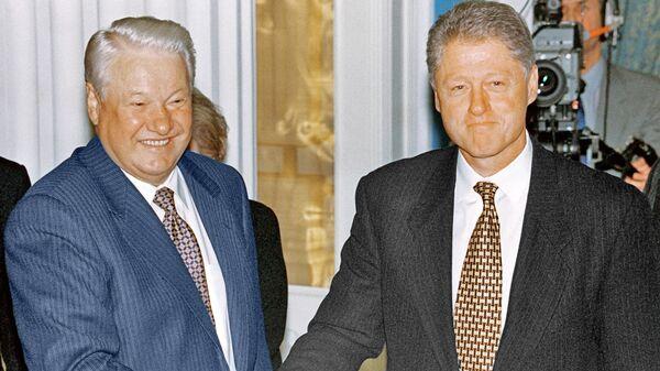 Встреча Б.Ельцина и Б.Клинтона в Кремле. 2 сентября 1998 года