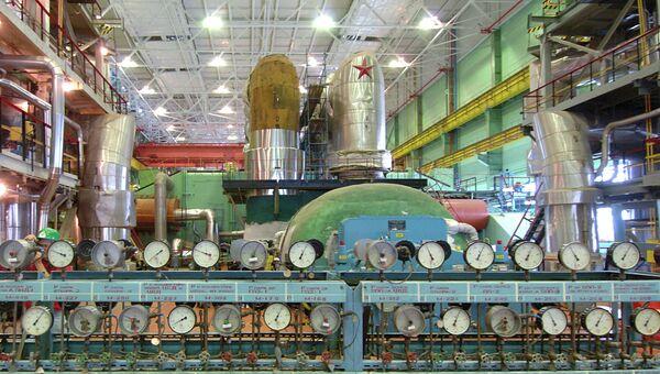 Калининская АЭС в городе Удомля Тверской области, архивное фото