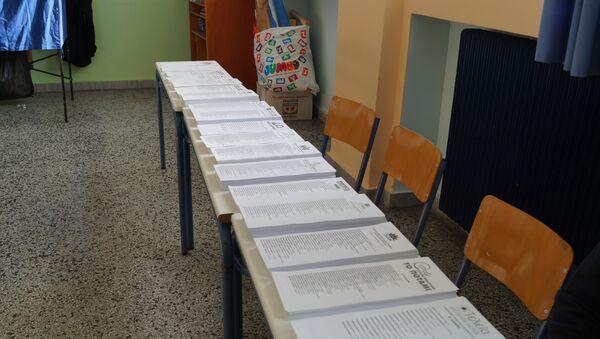 Голосование на парламентских выборах в Греции