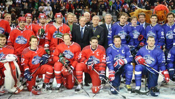 Хоккей. Матч Звезд -2015