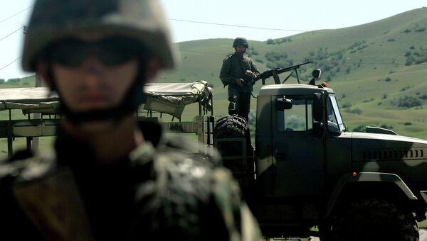 Учения НАТО Cooperative Longbow 09/Cooperative Lancer 09 в Грузии. Архивное фото
