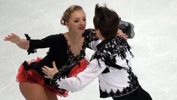 Александра Степанова и Иван Букин (Россия). Архивное фото