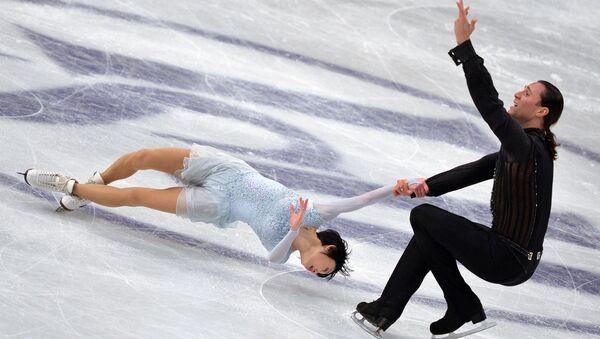 Юко Кавагути и Александр Смирнов (Россия). Архивное фото