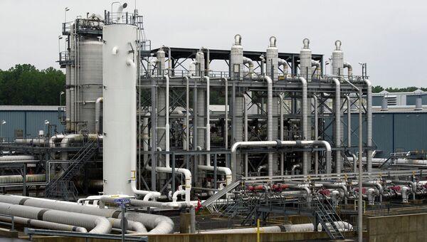 Трубы теплообменника энергостанции в штате Мэриленд, США. Архивное фото