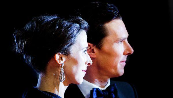 Софи Хантер и Бенедикт Камбербэтч на церемонии вручения премии BAFTA. Архивное фото