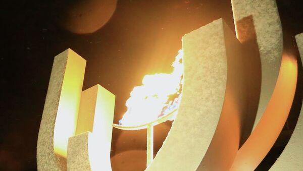 Огонь зимней Универсиады Granada 2015. Архивное фото
