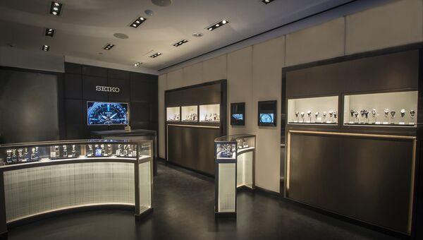 Бутик часов японской компании Seiko. Архивное фото