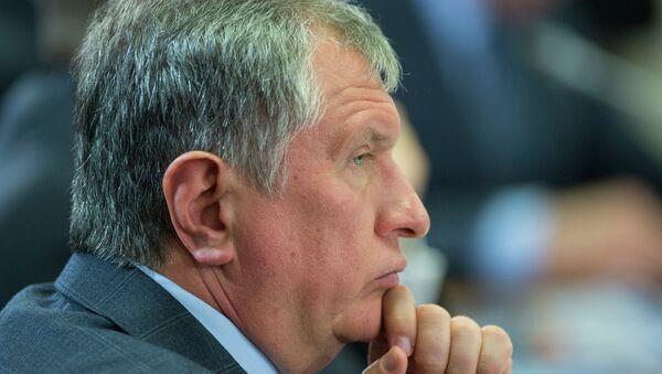 Председатель правления, заместитель председателя совета директоров ОАО НК Роснефть Игорь Сечин. Архивное фото