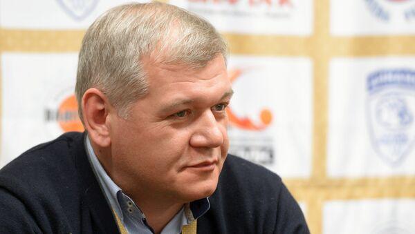 Генеральный секретарь Российской Федерации Баскетбола Андрей Архангельский. Архивное фото
