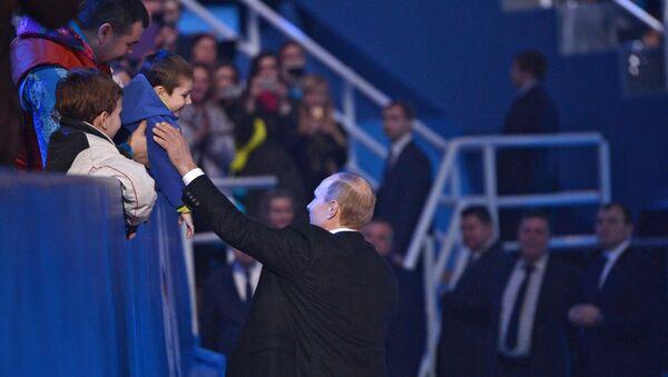 Рабочая поездка президента РФ В.Путина в Южный федеральный округ. Архивное фото