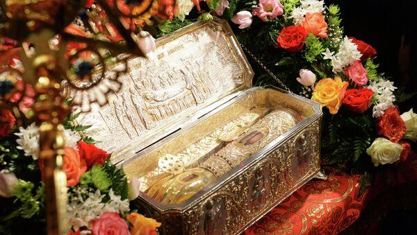 Прибытие мощей святого великомученика Димитрия Солунского