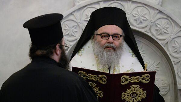 Патриарх Антиохийский и всего Востока Иоанн X, архивное фото