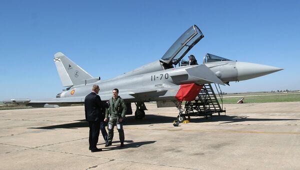 Истребитель Eurofighter ВВС Испании