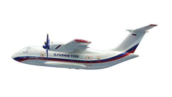 Cамолет Ил-112В. Архивное фото