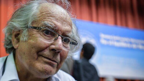 Лауреат Нобелевской премии мира Адольфо Перес Эскивель. Архивное фото