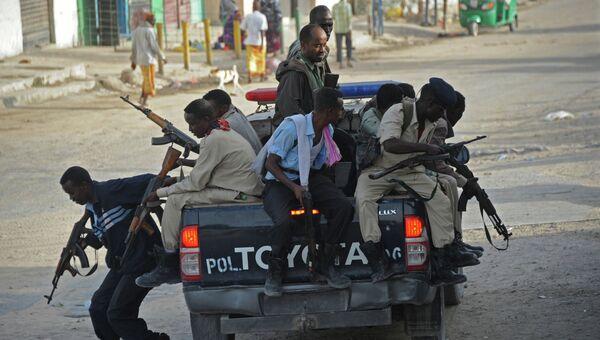 Полиция Сомали. Архивное фото