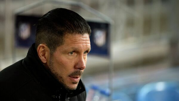 Главный тренер мадридского Атлетико Диего Симеоне. Архивное фото