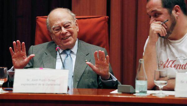 Бывший глава правительства Каталонии Жорди Пужол