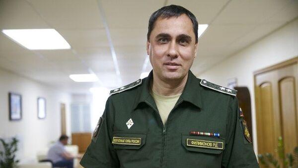 Директор департамента строительства Минобороны РФ Роман Филимонов. Архивное фото