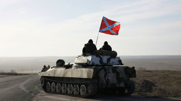 Военная техника ДНР. Архивное фото