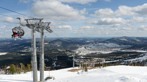 Горнолыжные трассы горнолыжного курорта Шерегеш