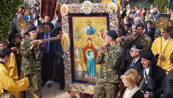 День Торжества православия отметили в Греции