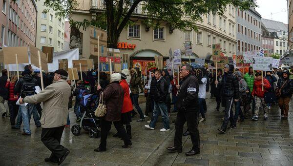 Марш за традиционные семейные ценности в Германии